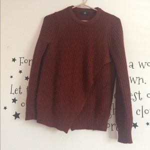 Rust Missguided Sweater.